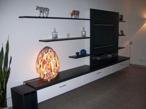 Hangende moderne tv kast ben lamers meubelen