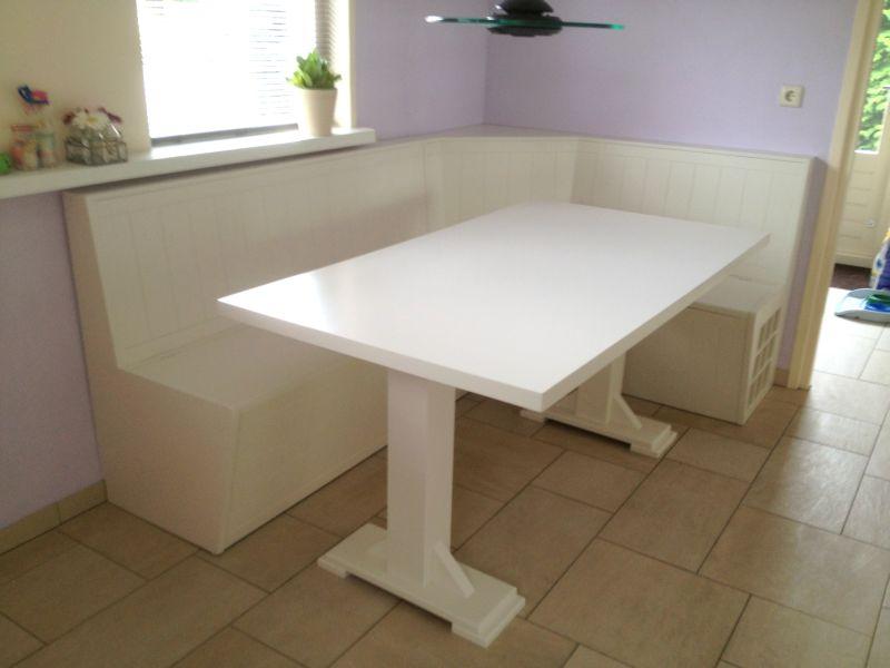 Beste Keuken Hoekbank : Keuken hoekbank wit ben lamers meubelen